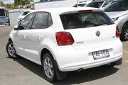 2012 Volkswagen Polo 6R MY12.5 77TSI Comfortline White 6 Speed Manual Hatchback Nundah Brisbane North East Preview