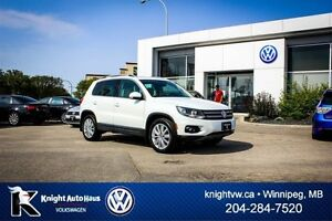 2014 Volkswagen Tiguan Highline AWD w/ Leather/Sunroof