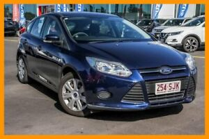 2012 Ford Focus LW Ambiente Blue 5 Speed Manual Hatchback Aspley Brisbane North East Preview