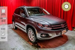 2012 Volkswagen Tiguan CONNECTIVITY PACKAGE! SUNROOF! LEATHER!