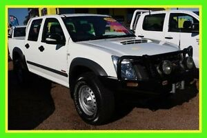 2008 Holden Rodeo RA MY08 LT Crew Cab White 4 Speed Automatic Utility Minchinbury Blacktown Area Preview