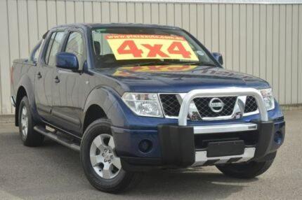2009 Nissan Navara D40 ST Blue 5 Speed Automatic Utility