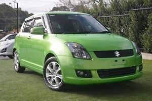 2010 Suzuki Swift RS415 RE4 Green 4 Speed Automatic Hatchback Paradise Campbelltown Area Preview