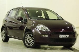 2013 Fiat Punto MY13 POP Red 5 Speed Manual Hatchback Dee Why Manly Area Preview