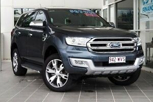 2015 Ford Everest UA Titanium Grey 6 Speed Semi Auto Wagon Ebbw Vale Ipswich City Preview