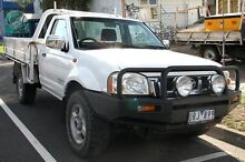 2006 Nissan Navara D22 ST-R (4x4) White 5 Speed Manual Briar Hill Banyule Area Preview