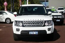 2014 Land Rover Discovery 4 Series 4 L319 MY14 SDV6 HSE White 8 Speed Sports Automatic Wagon Cannington Canning Area Preview