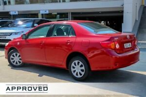 2007 Toyota Corolla ZZE122R 5Y Ascent Red 4 Speed Automatic Sedan