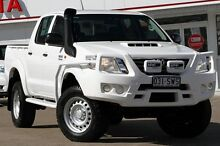 2012 Toyota Hilux KUN26R MY12 SR Double Cab White 5 Speed Manual Utility Woolloongabba Brisbane South West Preview