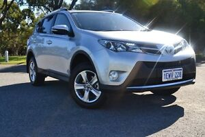 2015 Toyota RAV4 ZSA42R MY14 GXL 2WD Silver Pearl 7 Speed Constant Variable Wagon Claremont Nedlands Area Preview
