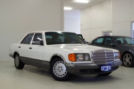 1984 Mercedes-Benz 280 W126 SE White 4 Speed Automatic Sedan Myaree Melville Area Preview
