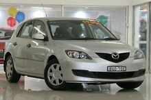 2008 Mazda 3 BK10F2 Neo Silver 5 Speed Manual Hatchback Waitara Hornsby Area Preview
