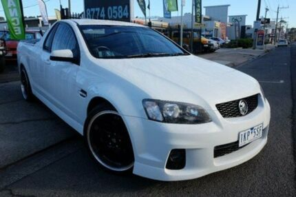 2011 Holden Ute VE II SS White 6 Speed Manual Utility