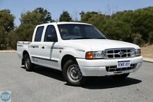 2000 Ford Courier PE XL Alaska White 5 Speed Manual Crewcab Hillman Rockingham Area Preview