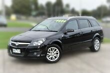 2009 Holden Astra AH MY09 CDTi Black 6 Speed Sports Automatic Wagon Berwick Casey Area Preview