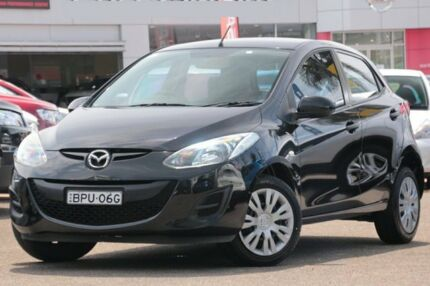 2010 Mazda 2 DE Neo Black 5 Speed Manual Hatchback Brookvale Manly Area Preview