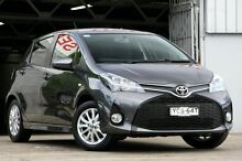 2014 Toyota Yaris NCP131R MY15 ZR Grey 4 Speed Automatic Hatchback Mosman Mosman Area Preview