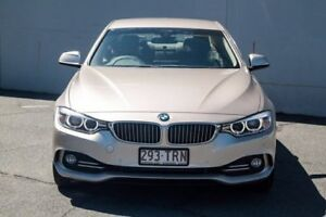 2013 BMW 420I F32 Luxury Line Coupe 2dr Spts Auto 8sp 2.0T Champagne Sports Automatic Coupe