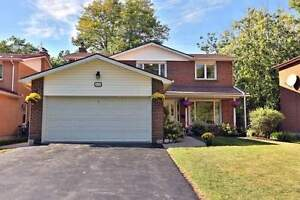 Welcome To Muskoka In The City! Great Two Storey Home.