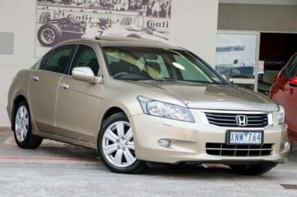 2010 Honda Accord 8th Gen MY10 V6 Luxury Beige 5 Speed Sports Automatic Sedan Doncaster Manningham Area Preview
