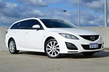 2010 Mazda 6 GH1052 MY10 Classic White 5 Speed Sports Automatic Wagon Midland Swan Area Preview