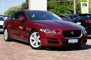 2016 Jaguar XE X760 MY16 20D Prestige Red 8 Speed Sports Automatic Sedan Osborne Park Stirling Area Preview