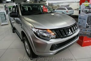 2016 Mitsubishi Triton MQ MY16 GLX+ Double Cab Sterling Silver 6 Speed Manual Utility Springwood Logan Area Preview