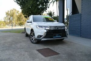 2015 Mitsubishi Outlander ZK MY16 Exceed 4WD White 6 Speed Constant Variable Wagon Ashmore Gold Coast City Preview