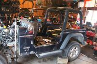 0 IIIII 0  Project Parts Jeep TJ 2004 Tub     0 IIII 0
