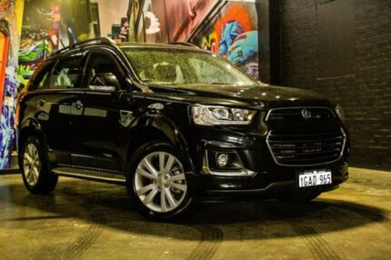 2016 Holden Captiva CG MY16 LT AWD Carbon Flash Black 6 Speed Sports Automatic Wagon