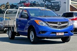 2015 Mazda BT-50 UP0YD1 XT 4x2 Blue 6 Speed Manual Cab Chassis Cleveland Redland Area Preview