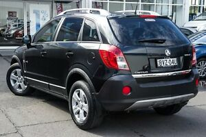 2011 Holden Captiva CG Series II 5 AWD Carbon Flash Black 6 Speed Sports Automatic Wagon Kings Park Blacktown Area Preview