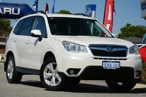 2013 Subaru Forester S4 MY13 2.5i-L Lineartronic AWD Satin White Pearl 6 Speed Constant Variable Melville Melville Area Preview