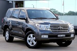 2011 Toyota Landcruiser VDJ200R 09 Upgrade Sahara (4x4) Graphite 6 Speed Automatic Wagon Old Guildford Fairfield Area Preview