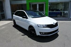 2016 Skoda Rapid NH MY17 Monte Carlo Spaceback DSG White 7 Speed Sports Automatic Dual Clutch Mount Gravatt Brisbane South East Preview