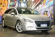 2012 Peugeot 508 Allure Touring HDi Silver 6 Speed Sports Automatic Wagon Northbridge Perth City Area Preview