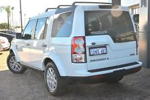 2012 Land Rover Discovery 4 Series 4 MY12 TdV6 CommandShift Fuji White 6 Speed Sports Automatic Wago Osborne Park Stirling Area Preview