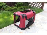 Small dog /cat/ Fabric portable folding crate/ cage/ travel carrier/bed