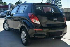 2014 Hyundai i20 PB MY14 Active Black 4 Speed Automatic Hatchback Pennant Hills Hornsby Area Preview