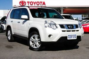2013 Nissan X-Trail T31 Series 5 ST (4x4) Ivory Pearl 6 Speed CVT Auto Sequential Wagon