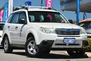 2009 Subaru Forester S3 MY09 X AWD Satin White Pearl 4 Speed Sports Automatic Wagon Willagee Melville Area Preview