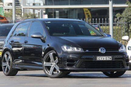 2014 Volkswagen Golf VII MY14 R 4MOTION Black 6 Speed Manual Hatchback