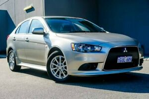 2012 Mitsubishi Lancer CJ MY12 ES Sportback Silver 6 Speed Constant Variable Hatchback Osborne Park Stirling Area Preview
