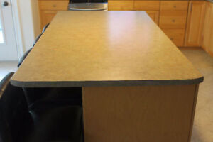 Large island counter top 40 X 76 3/4