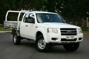 2007 Ford Ranger PJ XL Super Cab 4x2 Hi-Rider White 5 Speed Manual Cab Chassis Slacks Creek Logan Area Preview
