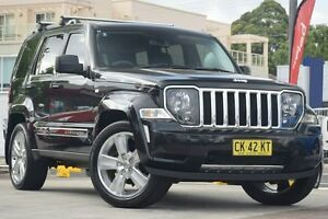 2012 Jeep Cherokee KK MY12 Limited (4x4) Black 4 Speed Automatic Wagon Waitara Hornsby Area Preview