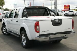 2011 Nissan Navara D40 MY11 ST-X 550 Arctic White 7 Speed Sports Automatic Utility Acacia Ridge Brisbane South West Preview
