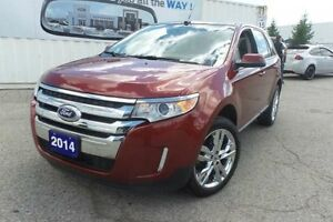 2014 Ford Edge SEL   Leather   Pano Roof   Navi   Local Trade In