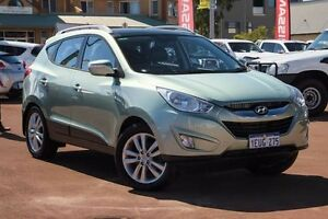 2010 Hyundai ix35 LM MY11 Highlander AWD Green 6 Speed Sports Automatic Wagon Mindarie Wanneroo Area Preview