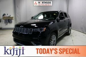 2017 Jeep Grand Cherokee 4WD SUMMIT Navigation (GPS),  Heated Se